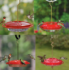 Hummingbird Feeder American Made in USA No Leak Drip Proof Aspects HummZinger