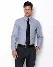 Amedeo Exclusive New Men Rev French Cuff Dress Slim Fit Shirt Grey 2013 Sale $99