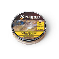 Xplorer Fly Fishing Ultra Strong Tippet Material - 30m - 1x to 6x