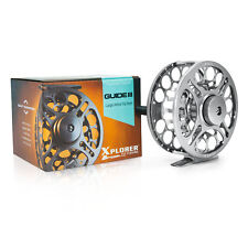 Xplorer Guide III Fly Fishing Reel - CNC Machined Aluminium  (4/5 5/7 9/10 wt)
