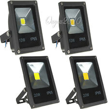 10W/20W LED SMD RGB Impermeable Slim Exterior Lámpara Pared Foco Reflector Luz