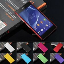 Slim Premium Hard Back Shell Case Cover For Sony Xperia Z3 Compact Accessories
