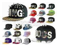 HipHop HIGH QUALITY acrylic stylish MIRROR adjustable Snapback baseball CAP HAT