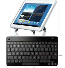 OEM ORIGINAL MOTOROLA WIRELESS BLUETOOTH KEYBOARD W/MOUSE STICK&STAND FOR TABLET