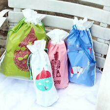 4 SIZES WATERPROOF STORAGE DRAWSTRING BAG POUCH ORGANISER TRAVEL CAMPING