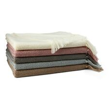 Hudson Park Textured Knit Throw Blanket 50 X 70