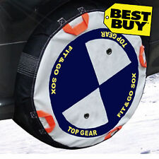 Car Snow Socks Fix and Go - All car tyre sizes covered - for snow and ice
