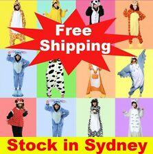 Mens Ladies Kigurumi Onesies All in one Pyjamas Fleece Pajamas Animal Onsie S-XL