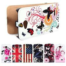 Luxury Faux Leather Wallet Flip Pouch Case Cover For LG Optimus Exceed 2 L70 New