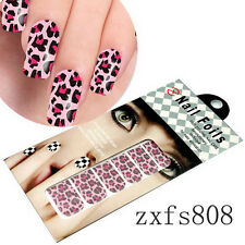 US 12 Style Selection Nail Art Foil Stickers Foils Stickers Decoration Nail New