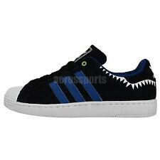 4bae56e830b Adidas Originals Superstar II Lite 2 Black White Teeth 2014 Mens Casual  Shoes