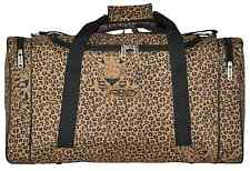 LEOPARD PRINT FRENZY CABIN APPROVED HAND CARRY ON FLIGHT BAG HOLDALL RYANAIR
