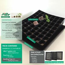 35mm coir JIFFY®-7 Tray Packs. Pellets, seedling propagation of garden plants.