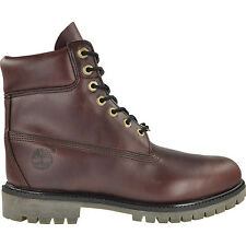 TIMBERLAND 6'' 6 INCH PREMIUM BOOT BURGUNDY RED SMOOTH LEATHER 8-13   6559A