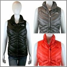 [2014-2015] The North Face Women's Aconcagua Vest Fall Winter Black/Grey/Pink