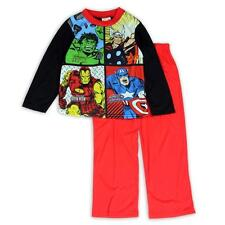 MARVEL AVENGERS Boys 4 6 8 10 Pjs Set PAJAMAS Shirt Pants HULK Thor Iron Man