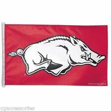 NCAA Arkansas Razorbacks Wincraft 3'x 5' Flag with D-Ring NEW!