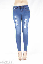 SOFIA's Jeans Skinny, Stretch Distressed Junior Jeans Pants SF-95150S