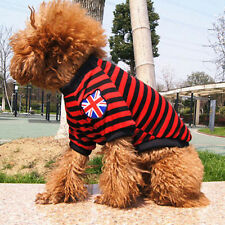 CHEAP Small Pet Dog Stripes Pajamas Coat Cat Puppy Soft Clothes Apparel Clothing