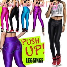 HOT! Girl's Contrast Push Up Yoga Pants Sportswear Leggings Tights O/S @yx141