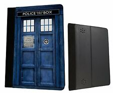 Doctor Who Tardis Box Kindle Fire Hd 7'' HDX 7'' Case Leather Flip cover