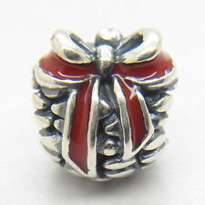 New Silver RED PINE CONE CHARM  bead