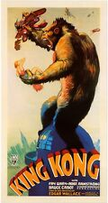 KING KONG animals vintage art print on Paper or Canvas Giclee
