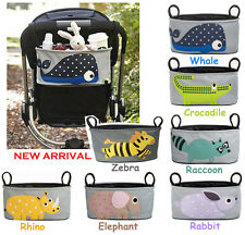 UNIVERSAL Baby Stroller Bag Organizer with Cup Holder BUGGY PRAM PUSHCHAIR