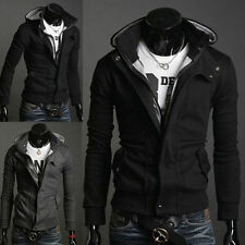 New Mens Slim Fit Stylish Sweatshirt Hoodies Hooded Casual Coat Outwear Jacket