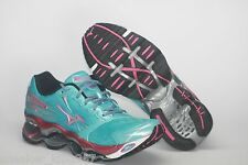 Brand New Mizuno Wave Prophecy 2 Running Training Shoes Blue Silver Pink