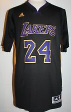 2014-15 Kobe Bryant Los Angeles Lakers Hollywood Nights Black Swingman Jersey