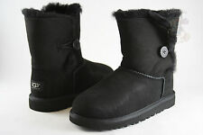 Kids UGG Australia Bailey Button Boot 5991 Black 100% Authentic Brand New