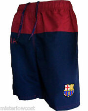 Short de bain plage BARCA collection officielle FC BARCELONE blason maillot club