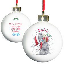 Personalised 1st Christmas Together First Xmas Bauble Tree Decoration Me You