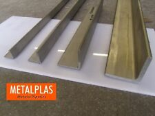 MARINE GRADE 316 STAINLESS STEEL ANGLE  (MANY SIZES & LENGTHS)
