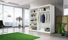 Wardrobe MULTI 2 sliding doors 203cm wide
