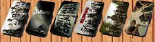 The Walking Dead For Faux Leather Flip iPhone & Samsung Galaxy Case Cover LA31