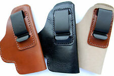 CEBECI LEATHER CCW IWB IN PANTS CLIP HOLSTER for BROWNING BDA 380