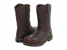 Red Wing Mens IRISH SETTER Brown Leather Pull On Aluminum Toe Work Boots 83904