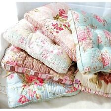 Shabby and vintage Style English Rose Kitchen Dining Chair Cushion Pad P-2014-04
