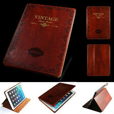 MOSISO Luxury Retro Vintage Flip  Stand SMART PU Leather Case for iPad Air 2 6G