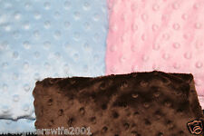 Circo Plush Popcorn Changing Pad Cover Pink Brown Blue Yellow White nwop