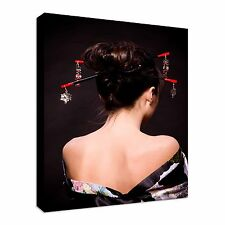 Geisha Back, Erotic Canvas Art Cheap Wall Print Home Interior