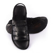 MENS US 8-11 GENUINE LEATHER---Handmade Cushioned Sandals- Leather lining