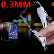 Ultra-thin Transparen Gel Case Cover For Sony Xperia Z1 Z2 Z3 C3 M2 T2 Others