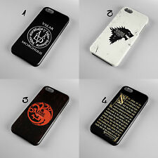 GAME OF THRONES STARK 3D CASE HARD COVER FOR IPHONE 4 4S 5 5S 6 OR SAMSUNG