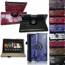 For Amazon Kindle Fire HDX 8.9 LUXURY PU Leather SMART Case Cover Rotating Stand