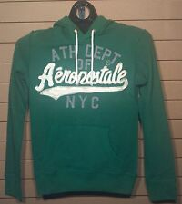 Men's Aeropostale Green Pullover Hoodie--Applique--$9.99--Size XS