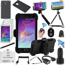 EEEKit Professional Accessory Kit for Samsung Galaxy Note 4 Case+Monopod+Tripod