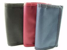 MENS LADIES QUALITY CANVAS SPORTS WALLET CREDIT CARD HOLDER POUCH  PURSE